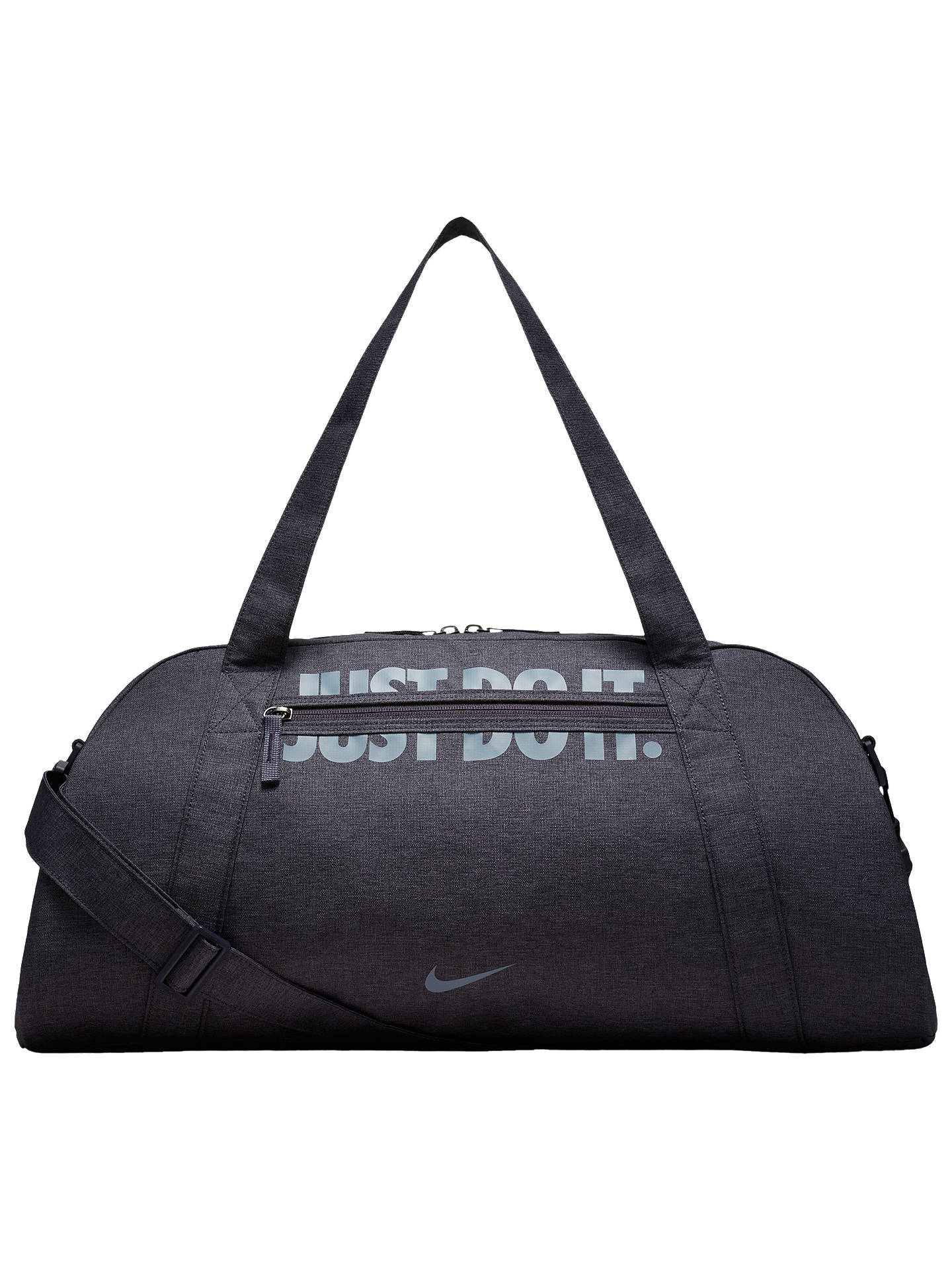 76f84516 Buy Nike Gym Club Training Duffel Bag, Gridiron/Ashen Slate Online at  johnlewis.