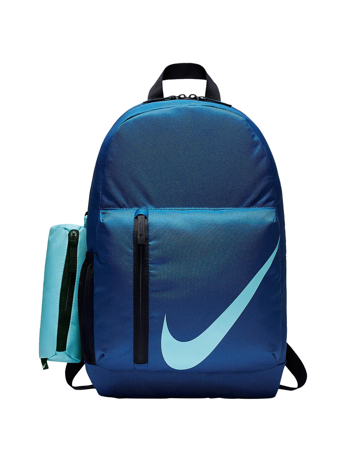 BuyNike Children s Elemental Backpack, Gym Blue Black Blue Chill Online at  johnlewis. d288a2c792