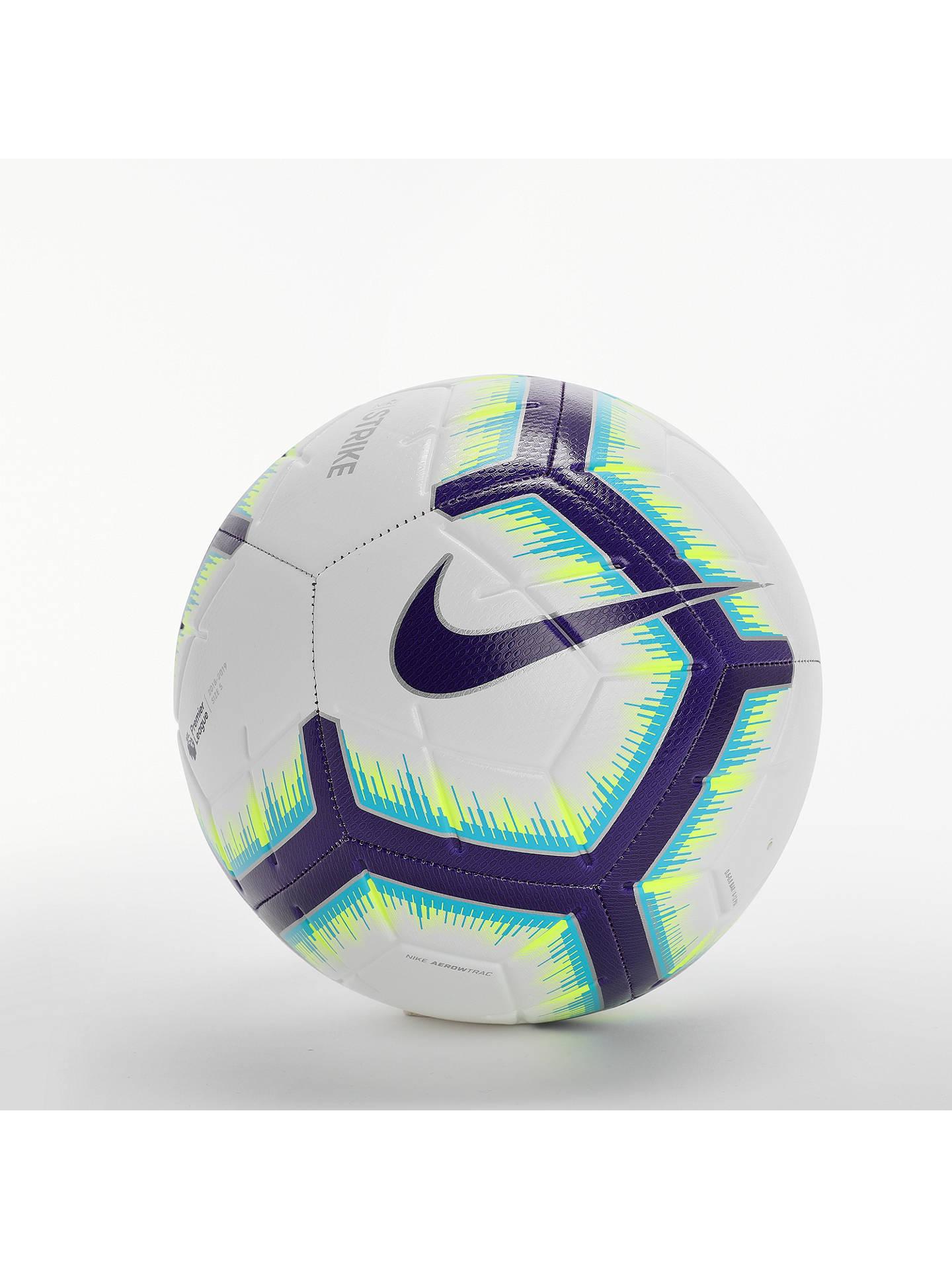 Nike 2018/2019 Premier League Strike Football, Size 5