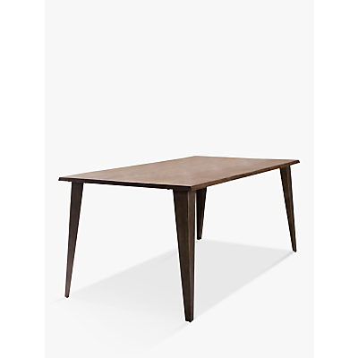 Hudson Living Foundry 6 Seater Dining Table, Smoked Oak
