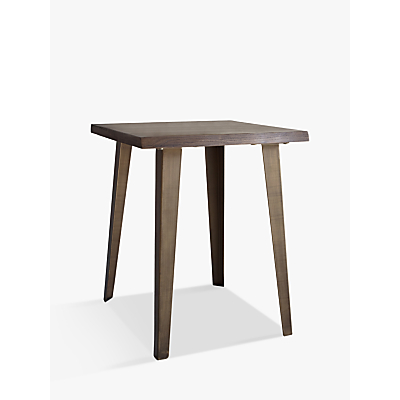 Hudson Living Foundry Side Table, Smoked Oak