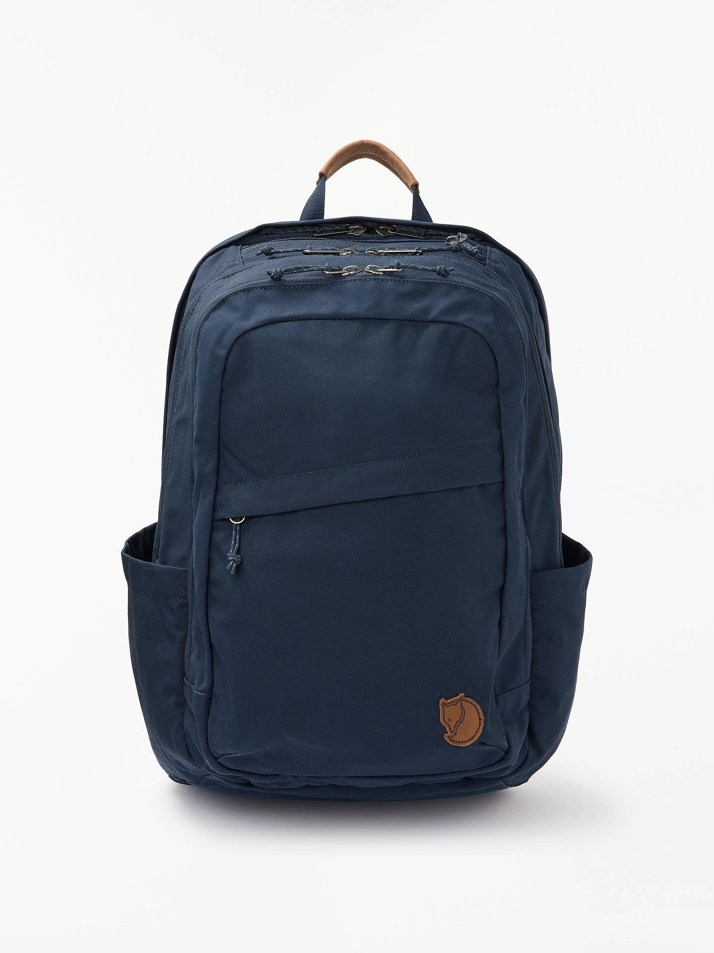 BuyFjällräven Raven 28L Backpack, Navy Online at johnlewis.com ... 2097afdea2