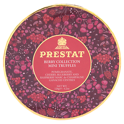 Image of Prestat Berry Collection Mini Chocolate Truffles, 120g