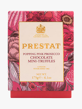 Buy Prestat Popping Pink Prosecco Mini Truffles, 175g Online at johnlewis.com