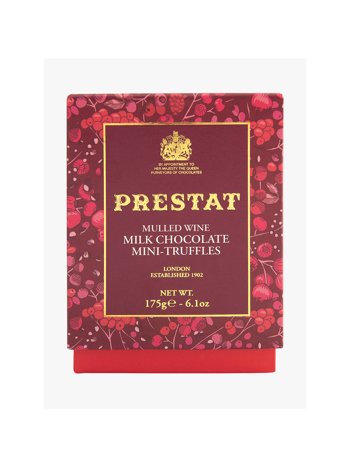BuyPrestat Mulled Wine Milk Chocolate Mini Truffles, 175g Online at johnlewis.com