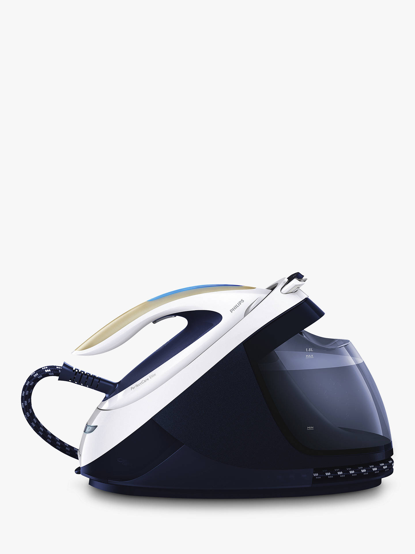 Buy Philips GC9635/26 PerfectCare Elite Steam Generator Iron, Blue Online at johnlewis.com