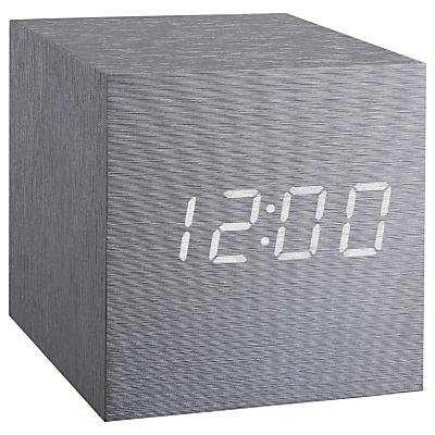 Gingko Cube Click Clock Alarm Clock