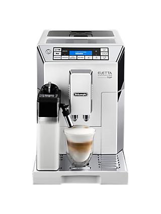 De'Longhi ECAM45.760 Eletta Flat White Bean-to-Cup Coffee Machine, White