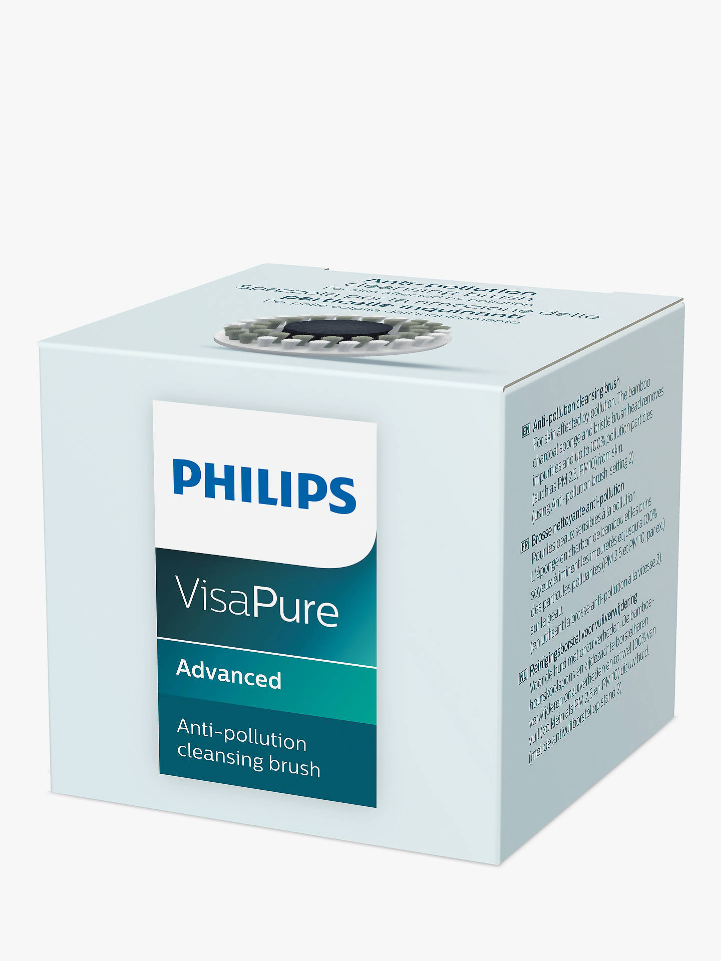 BuyPhilips VisaPure Anti-Pollution Brush Head Online at johnlewis.com