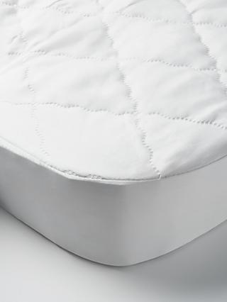 John Lewis & Partners Micro-Fresh Easy Care Crib Mattress Protector