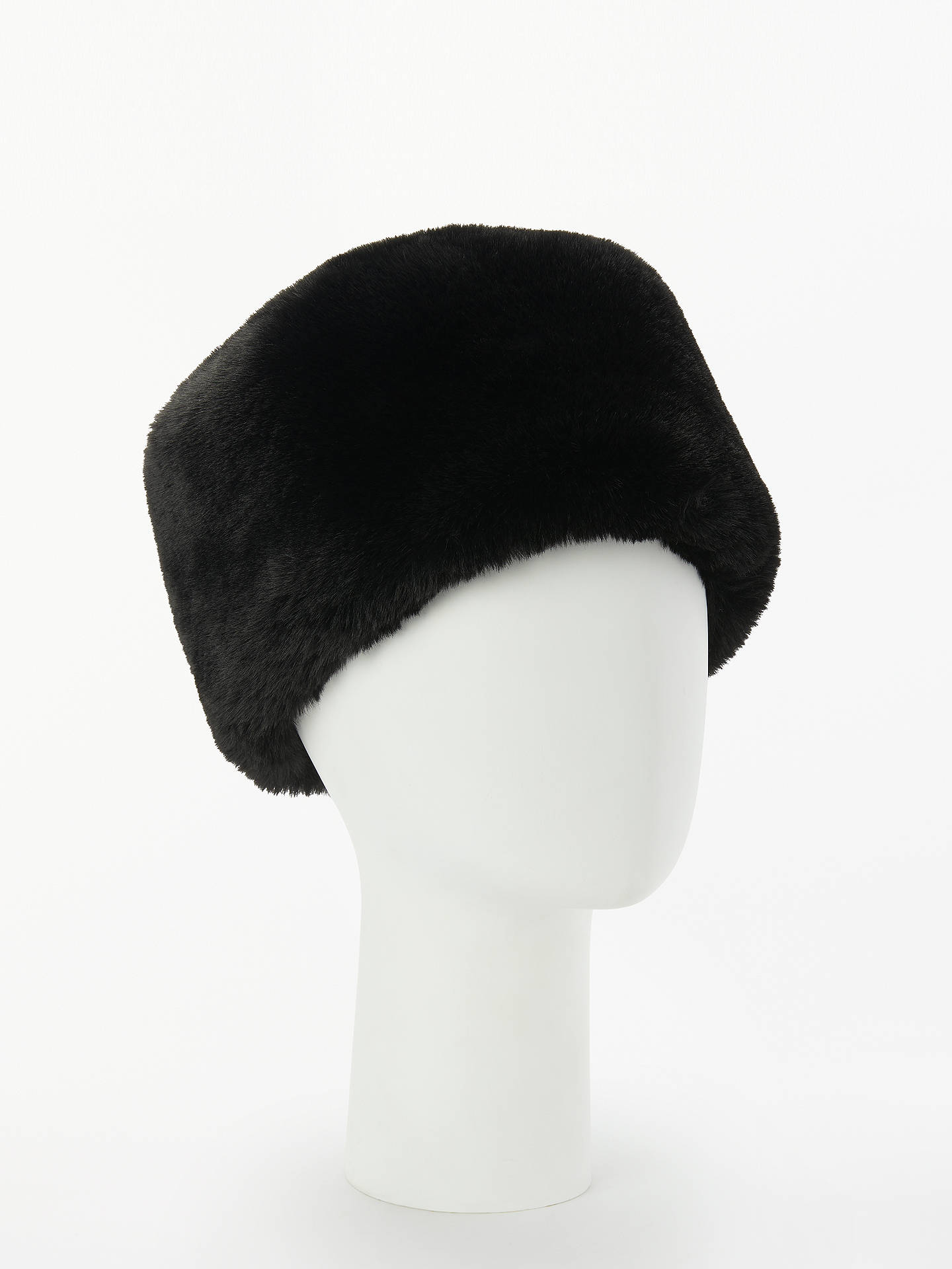 d0d4eee4f John Lewis & Partners Faux Fur Cossack Hat, Black