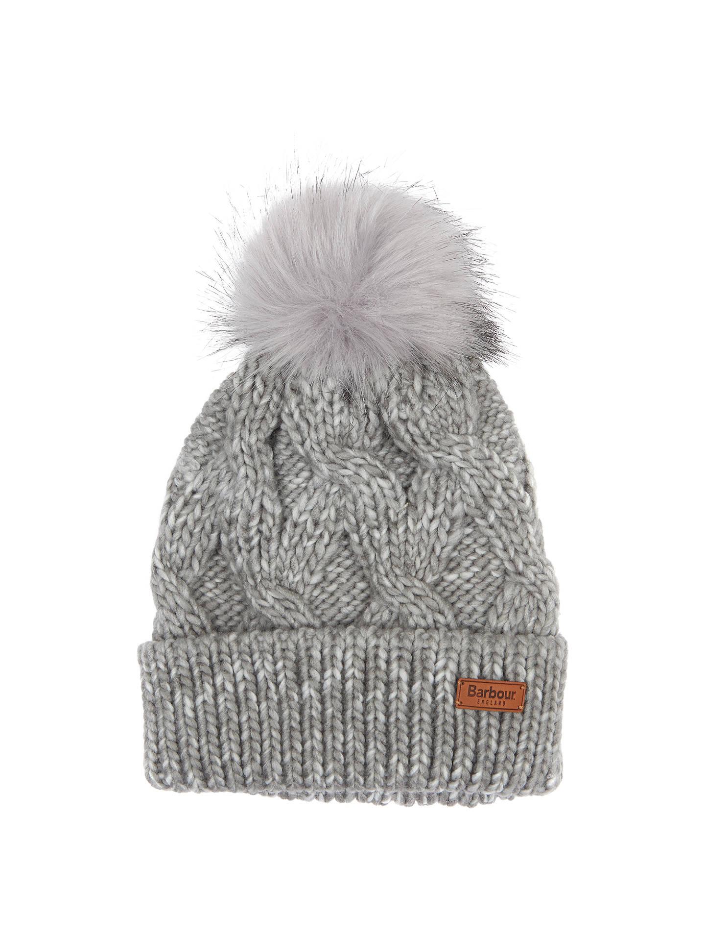 ef881e6fea675 Barbour Bridport Pom Beanie Hat