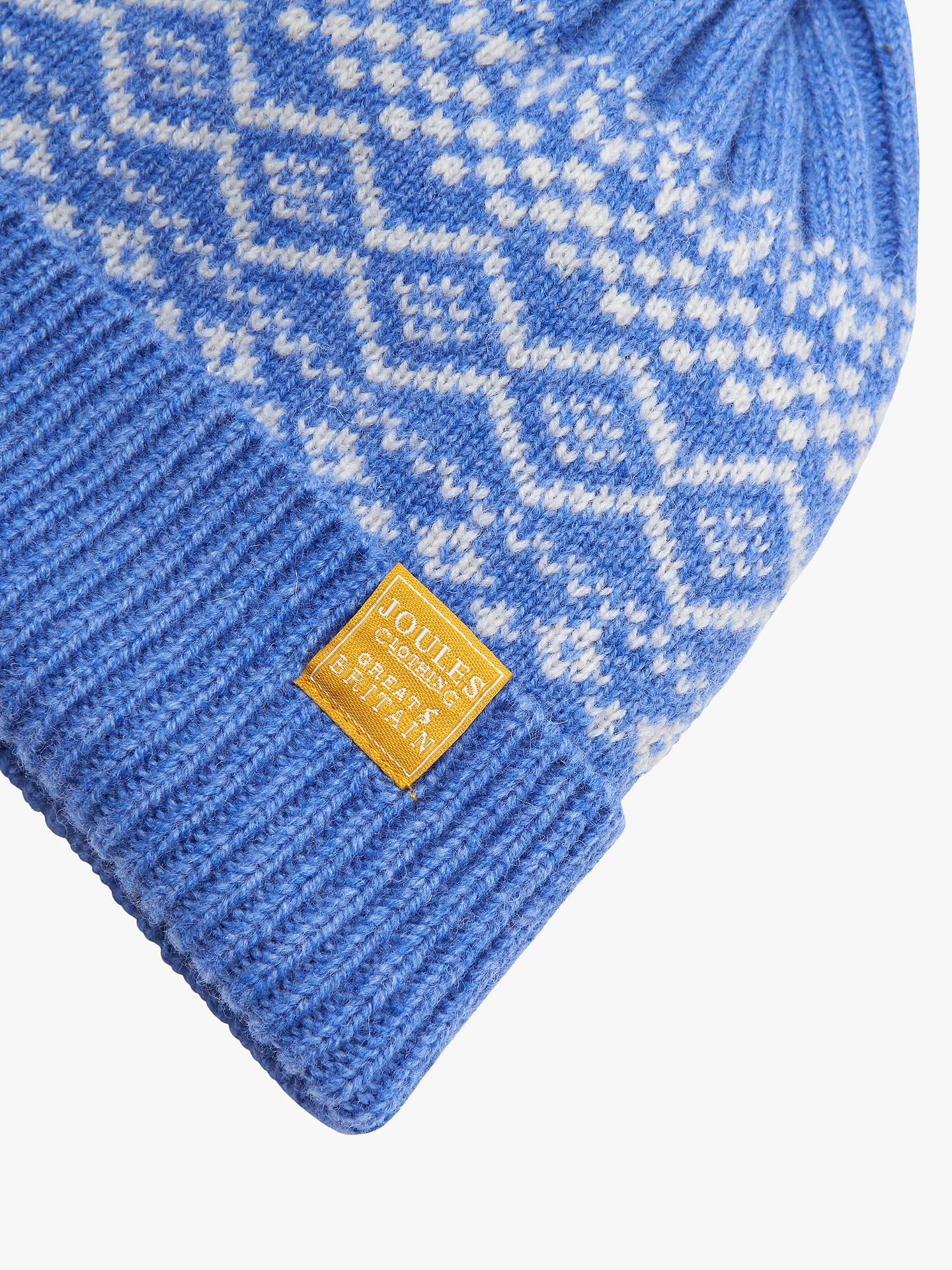 3652c776731 Joules Elsa Fair Isle Bobble Hat at John Lewis   Partners