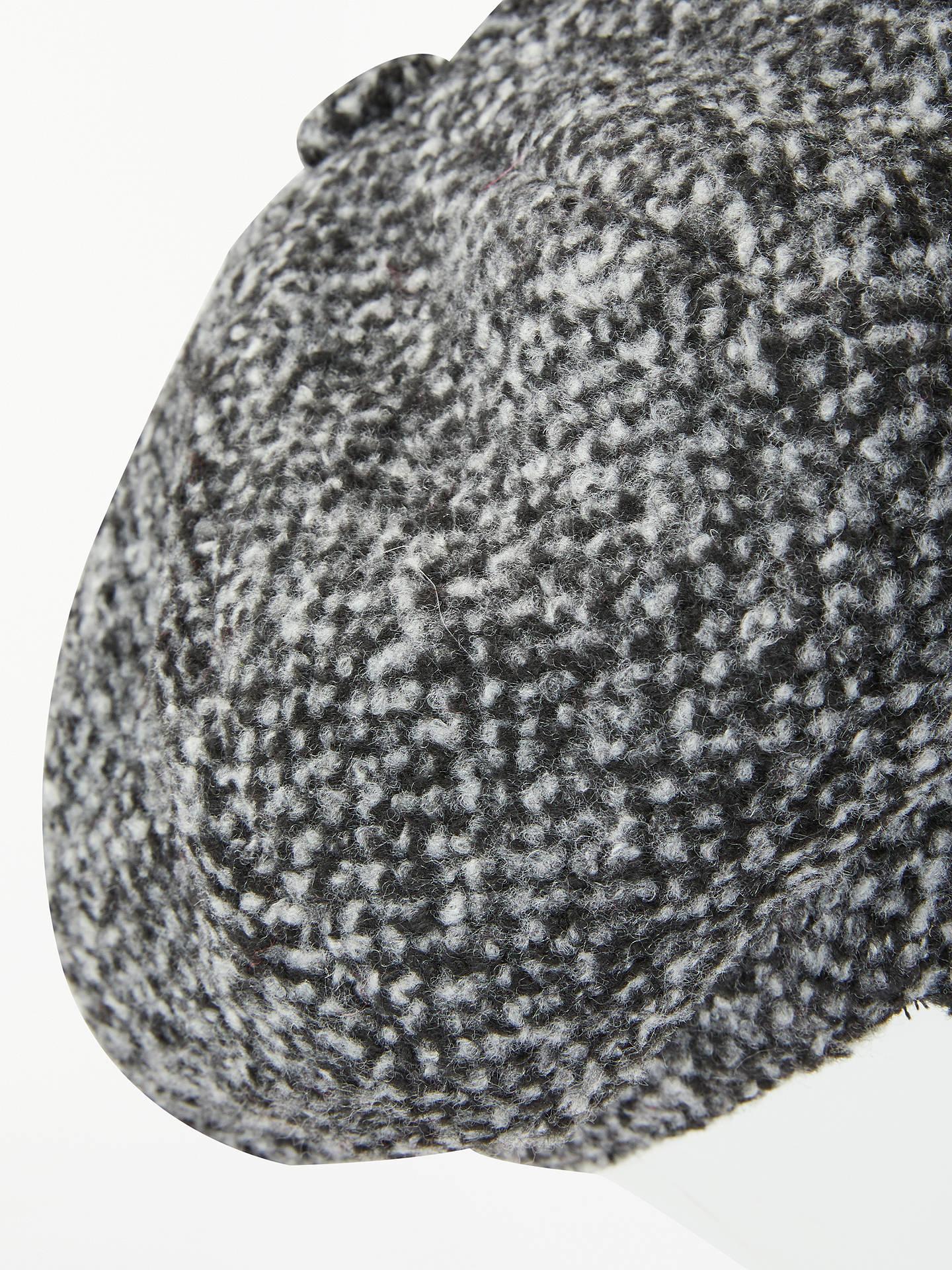7f0e4687 ... Buy John Lewis & Partners Wool Baker Boy Hat, Monochrome Online at  johnlewis.com