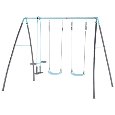 Plum Products Premium Metal Double Swing And Glide With Mist