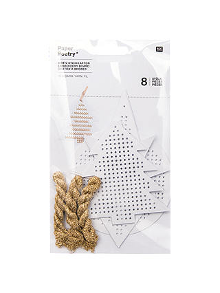 Buy Rico Christmas Boards Embroidery Kit Online at johnlewis.com