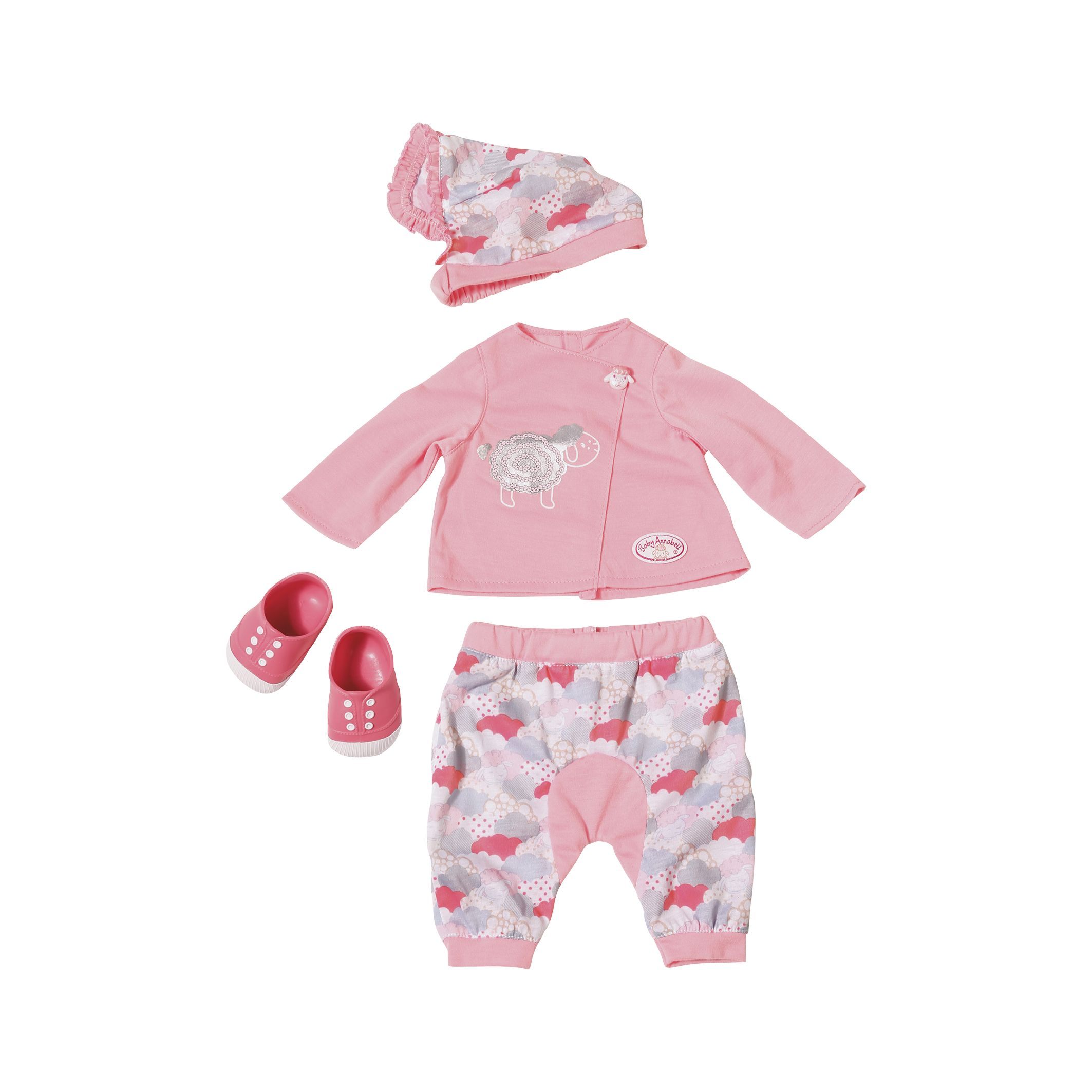 ce7618cbcad2f Zapf Baby Annabell Deluxe Sheep Clothing Set at John Lewis & Partners