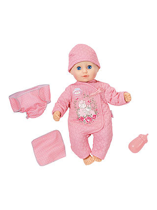 Buy Baby Annabell Baby Fun Doll Online at johnlewis.com