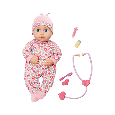 Zapf Baby Annabell Milly Feels Better Doll