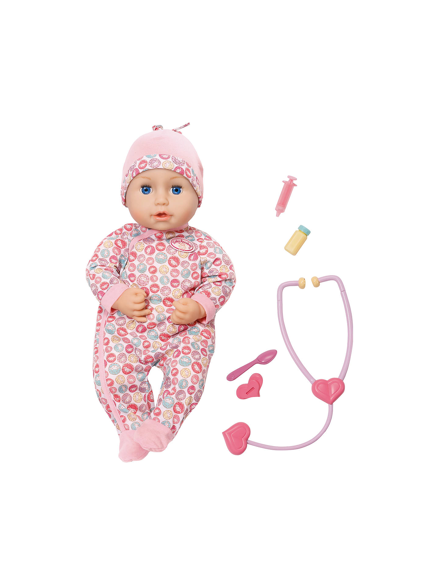 Zapf Baby Annabell Milly Feels Better Doll at John Lewis & Partners