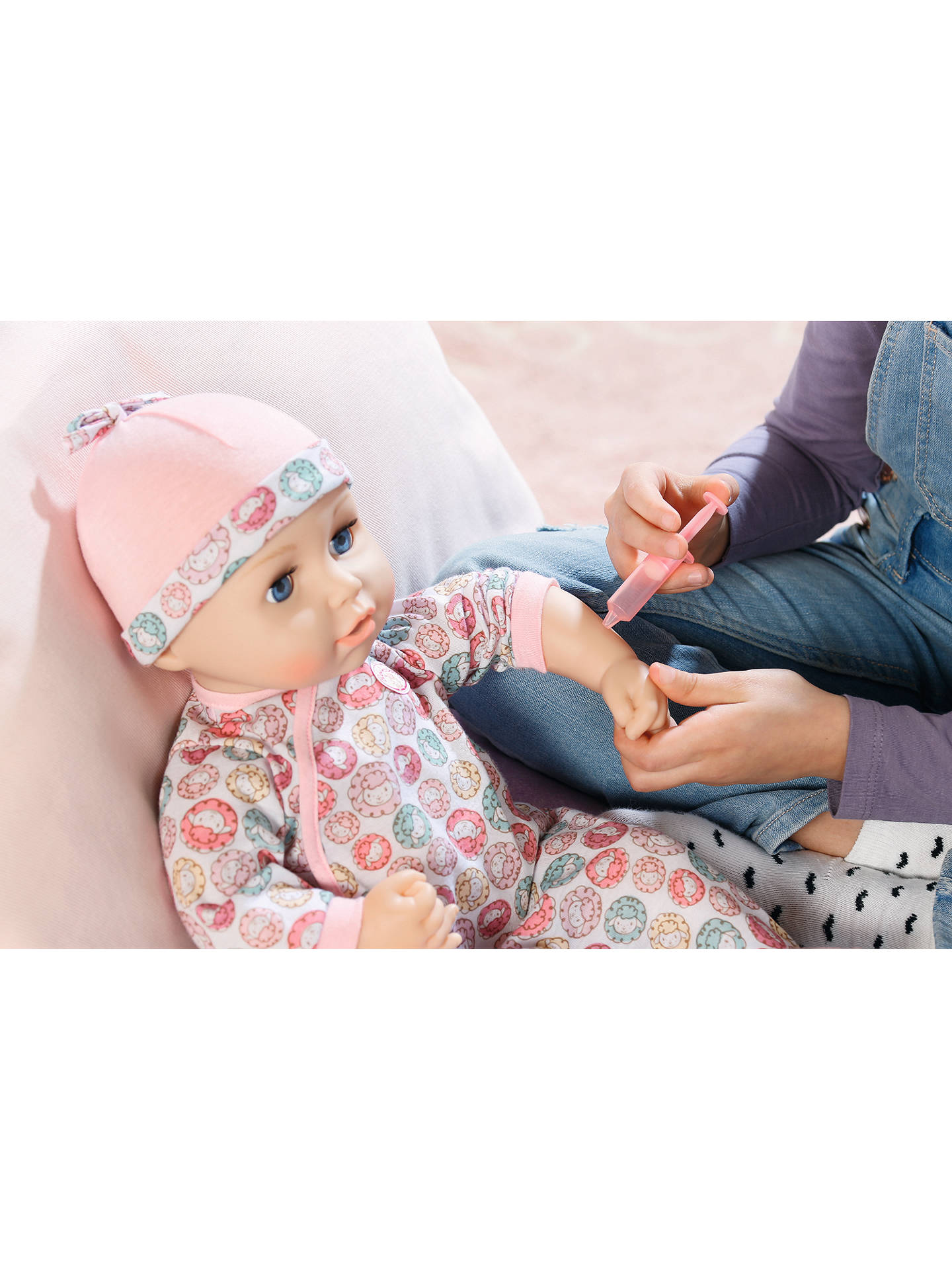 Zapf Baby Annabell Milly Feels Better Doll At John Lewis