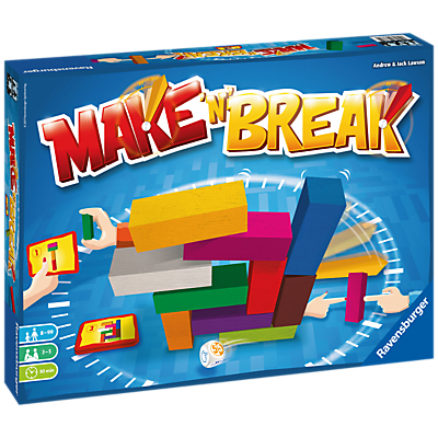 Ravensburger Make 'N' Break Family Building Game