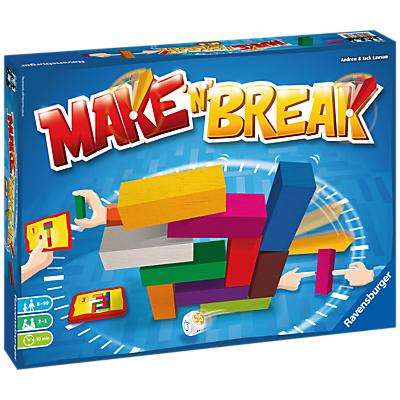 Image of Ravensburger Make 'N' Break Family Building Game