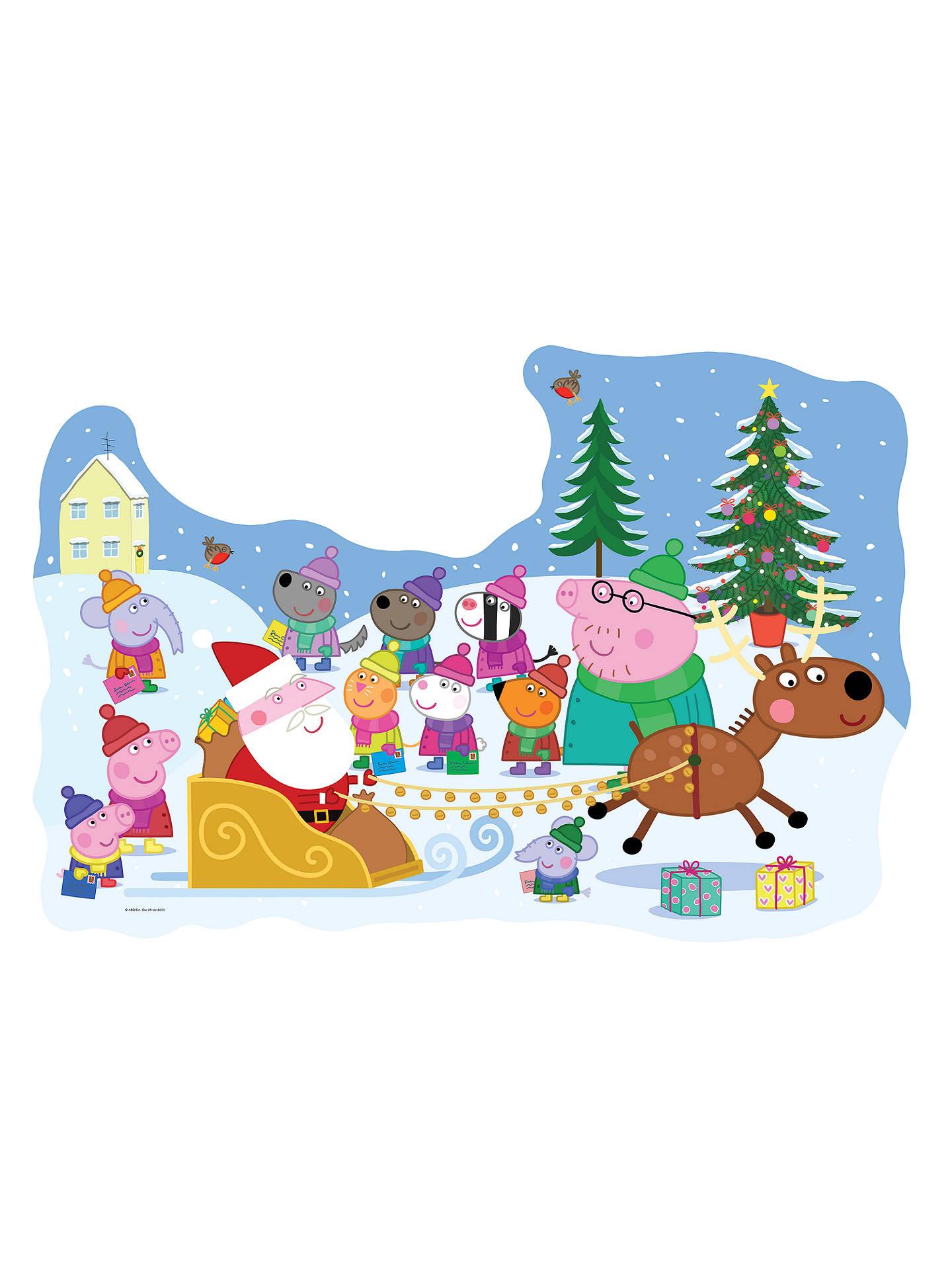 Ravensburger Peppa Pig Christmas Floor Jigsaw Puzzle 32