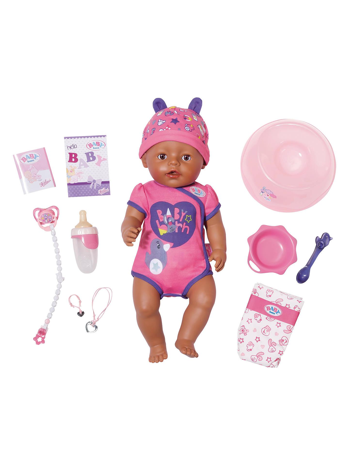 Zapf Baby Born Doll at John Lewis & Partners