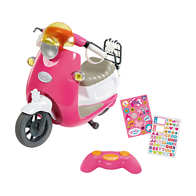 Zapf Baby Born City Remote Control Scooter
