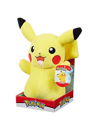 Prime Pokemon Pikachu 10 Plush Soft Toy At John Lewis Partners Gmtry Best Dining Table And Chair Ideas Images Gmtryco