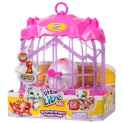 Little Live Pets Surprise Dragon Crystal Cage