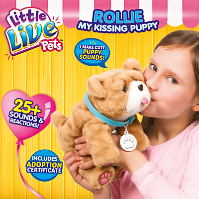 Image of Little Live Pets Rollie My Kissing Puppy