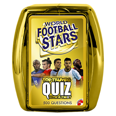 Image of Top Trumps - Quiz World Football Stars