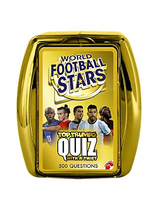 Top Trumps Quiz World Football Stars Card Game