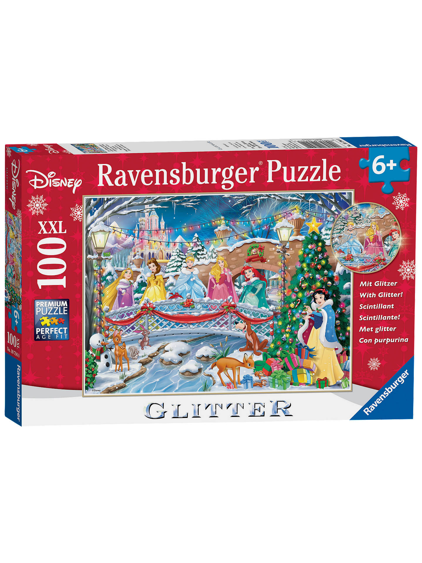e9d34dc03c1 Buy Ravensburger Disney Princess Glitter Christmas Jigsaw Puzzle