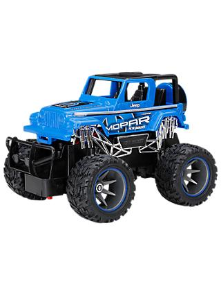 New Bright 1:24 Mopar Jeep Radio-Controlled Mini Monster Truck