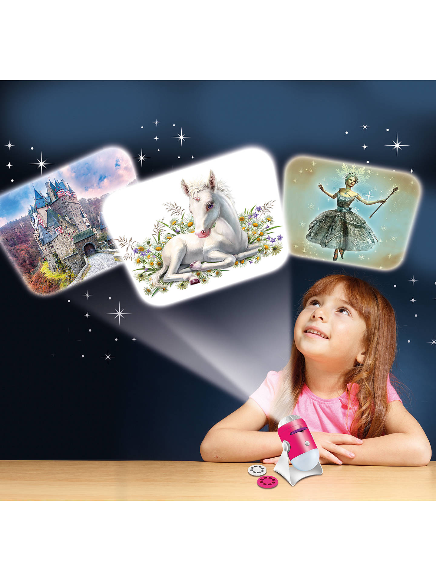 BuyBrainstorm Fairy Tale Projector and Nightlight Online at johnlewis.com