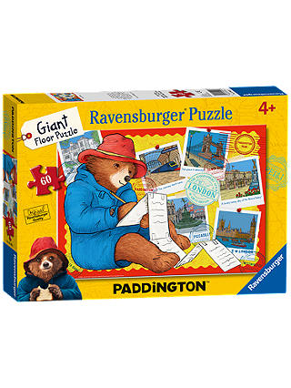 Buy Ravensburger Paddington Bear Giant Floor Jigsaw Puzzle, 60 Pieces Online at johnlewis.com