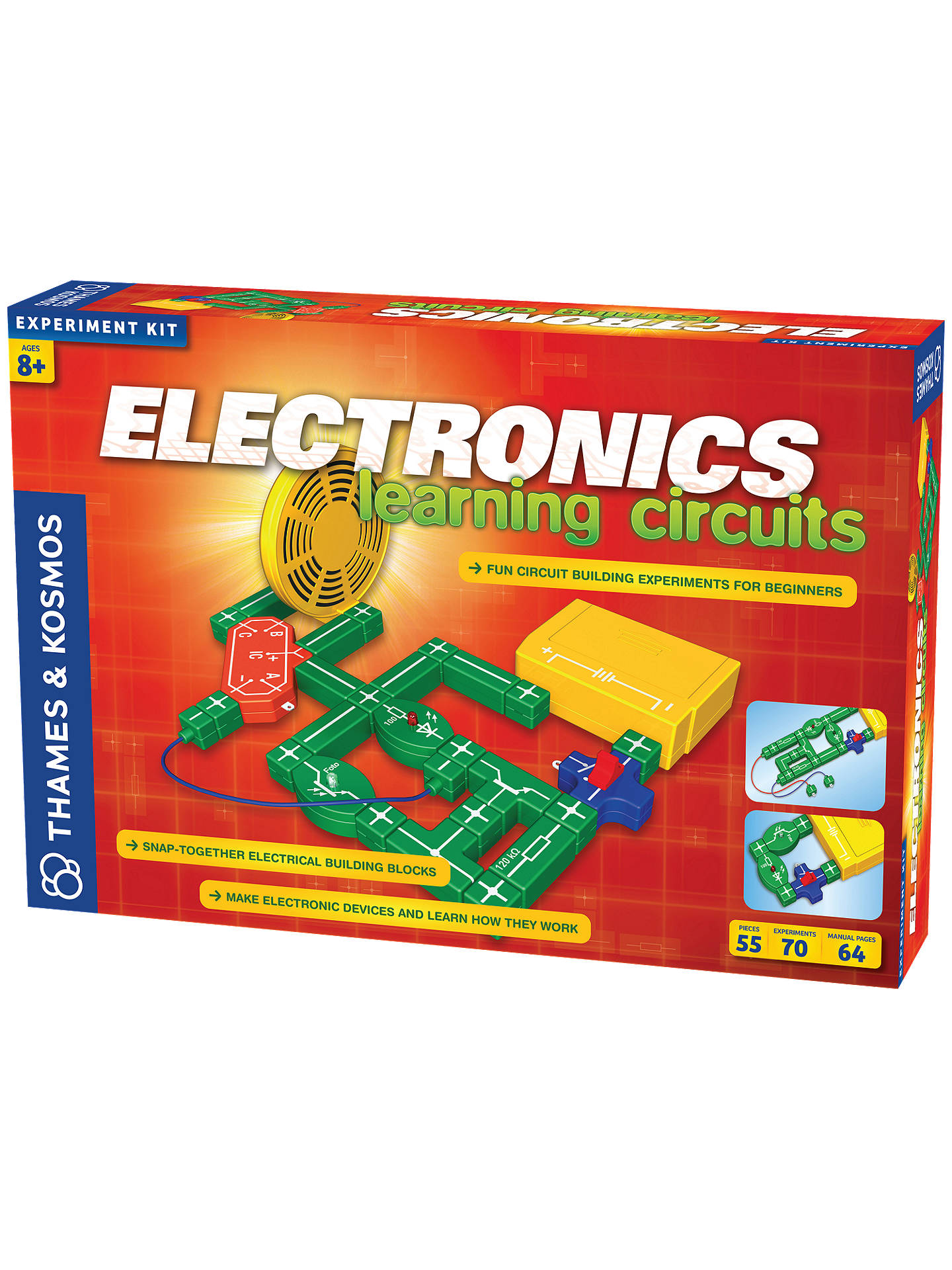 Buy Thames & Kosmos Electronics Learning Circuits Experiment Kit Online at johnlewis.com