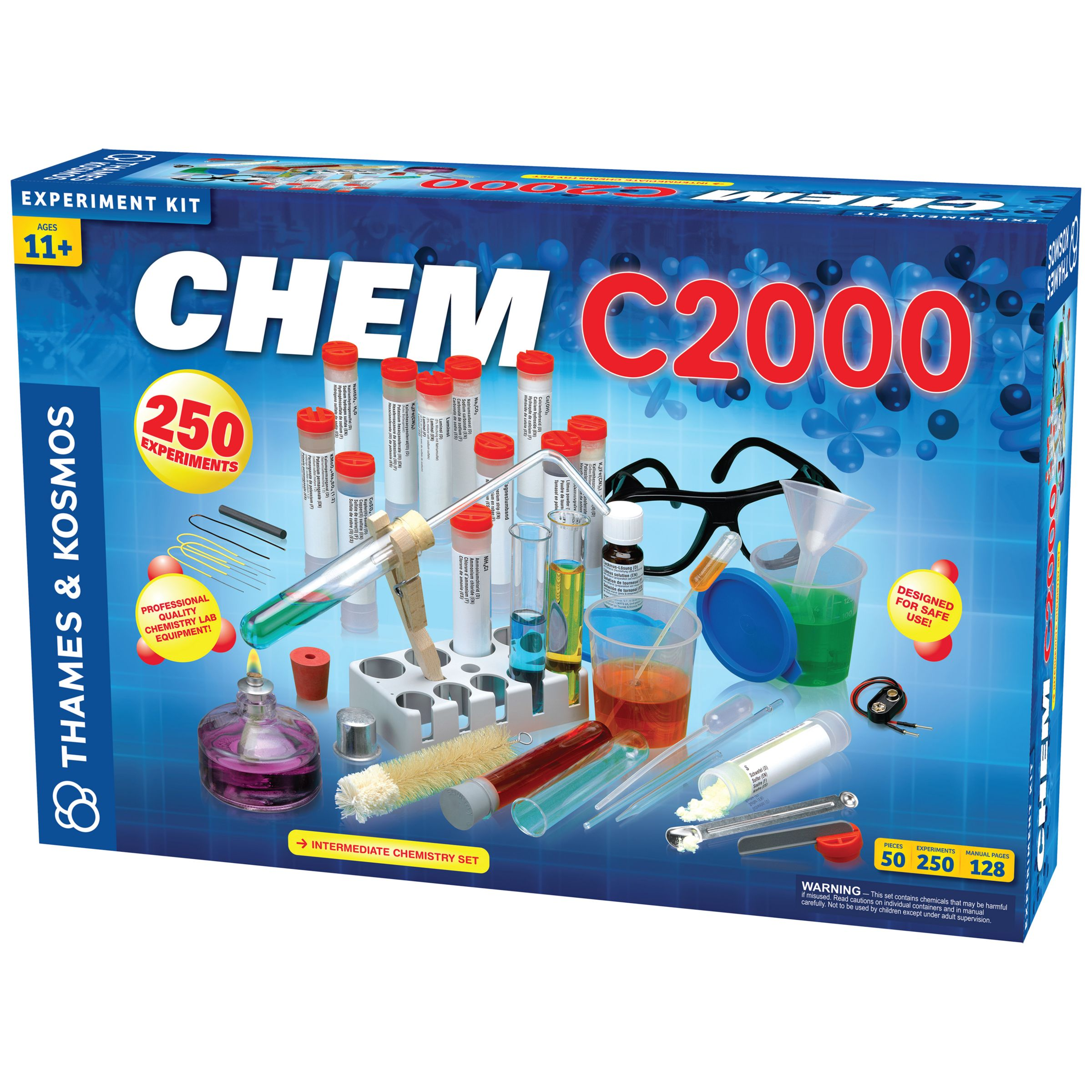 Thames & Kosmos Thames & Kosmos CHEM C2000 Chemistry Set