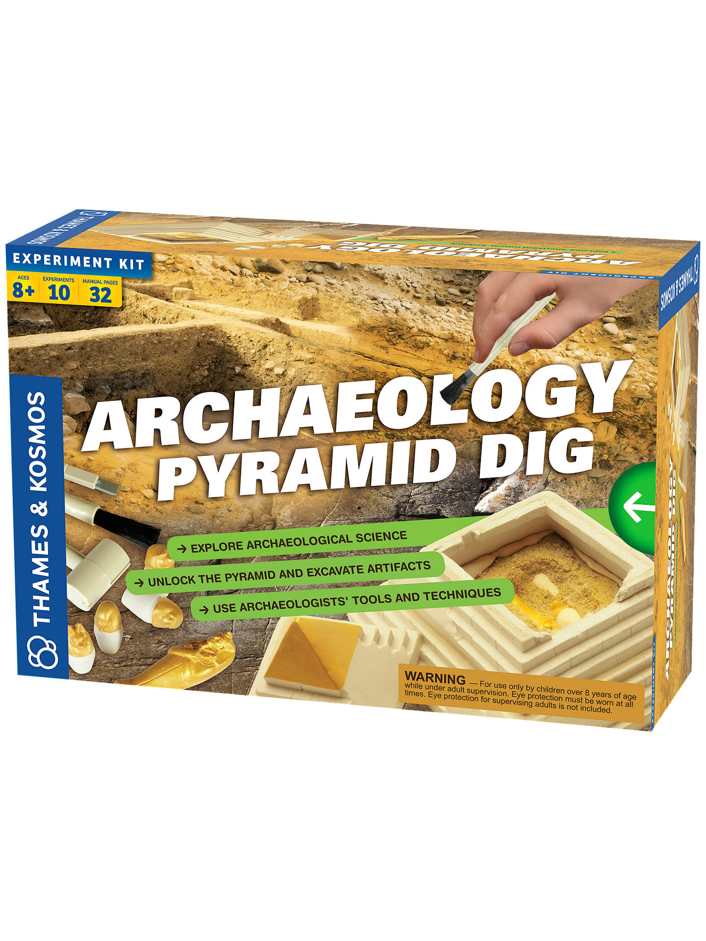 BuyThames & Kosmos National Geographic Archaeology Pyramid Dig Online at johnlewis.com