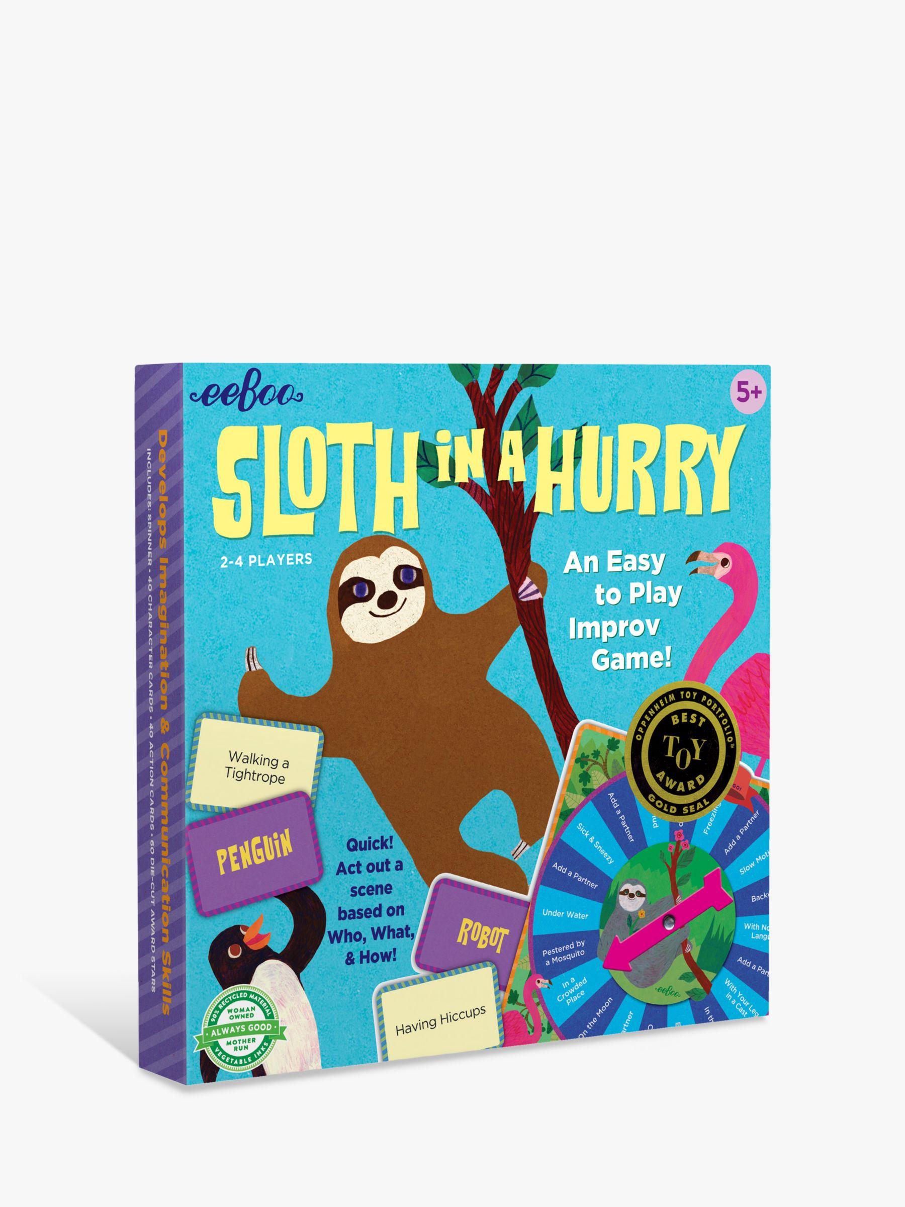 Eeboo eeBoo Sloth in a Hurry Board Game