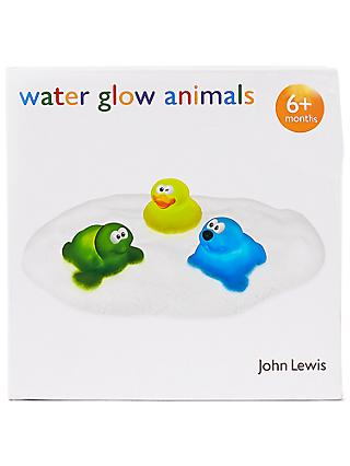 John Lewis & Partners Water Glow Animals