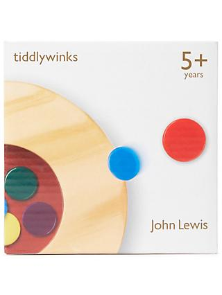 John Lewis & Partners Tiddlywinks Wooden Game