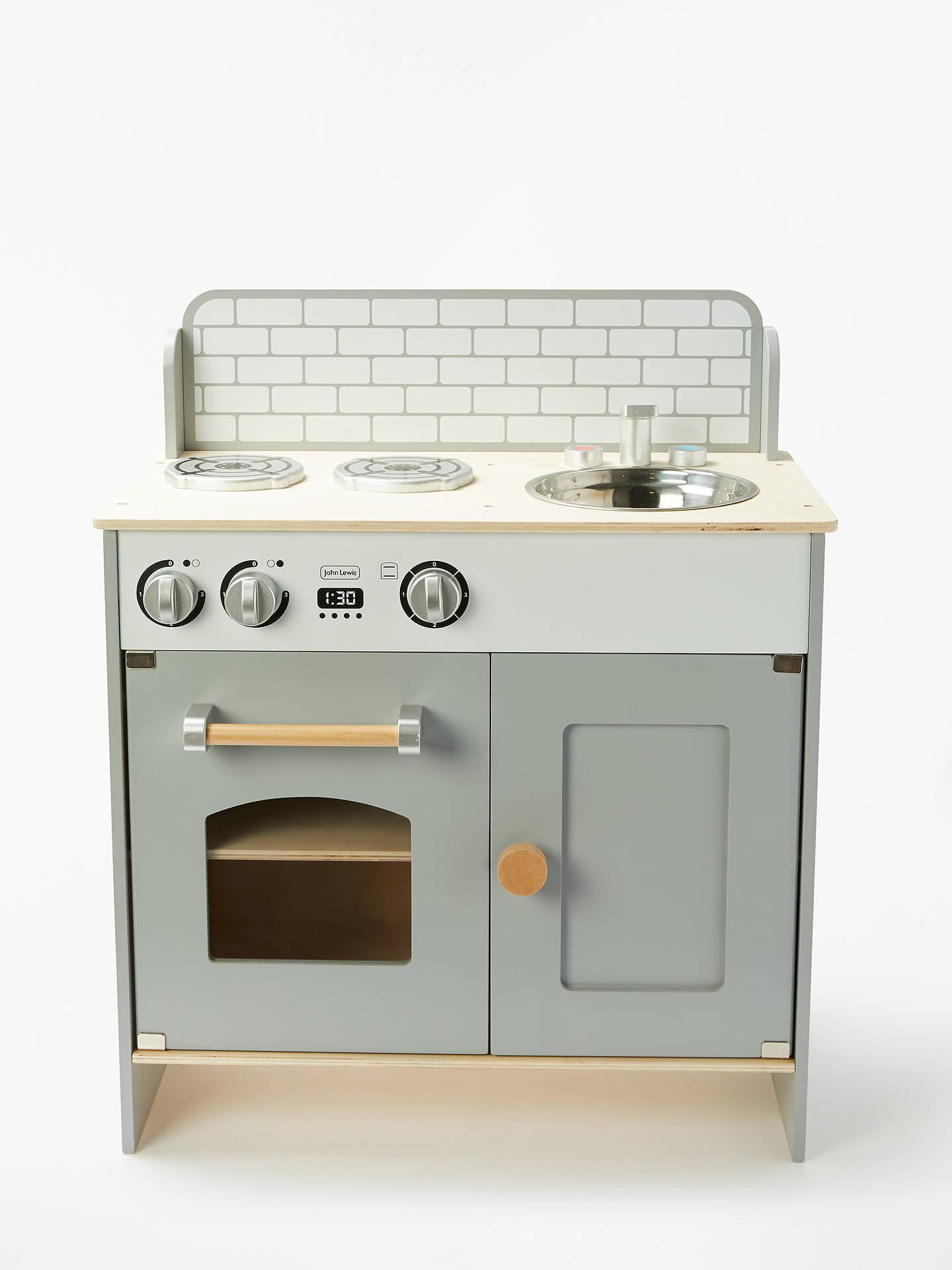 John Lewis & Partners Mini Play Kitchen