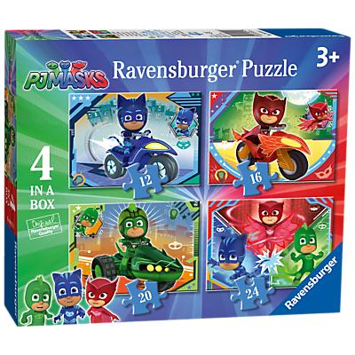 Image of Ravensburger PJ Masks Jigsaw Puzzle, Box of 4