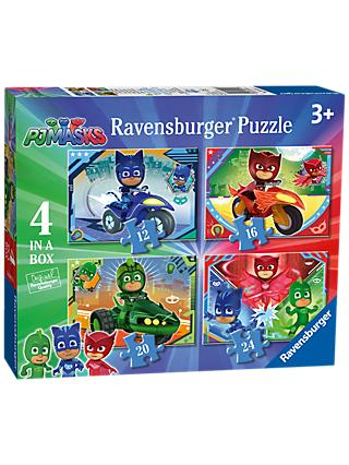 Ravensburger PJ Masks Jigsaw Puzzle, Box of 4