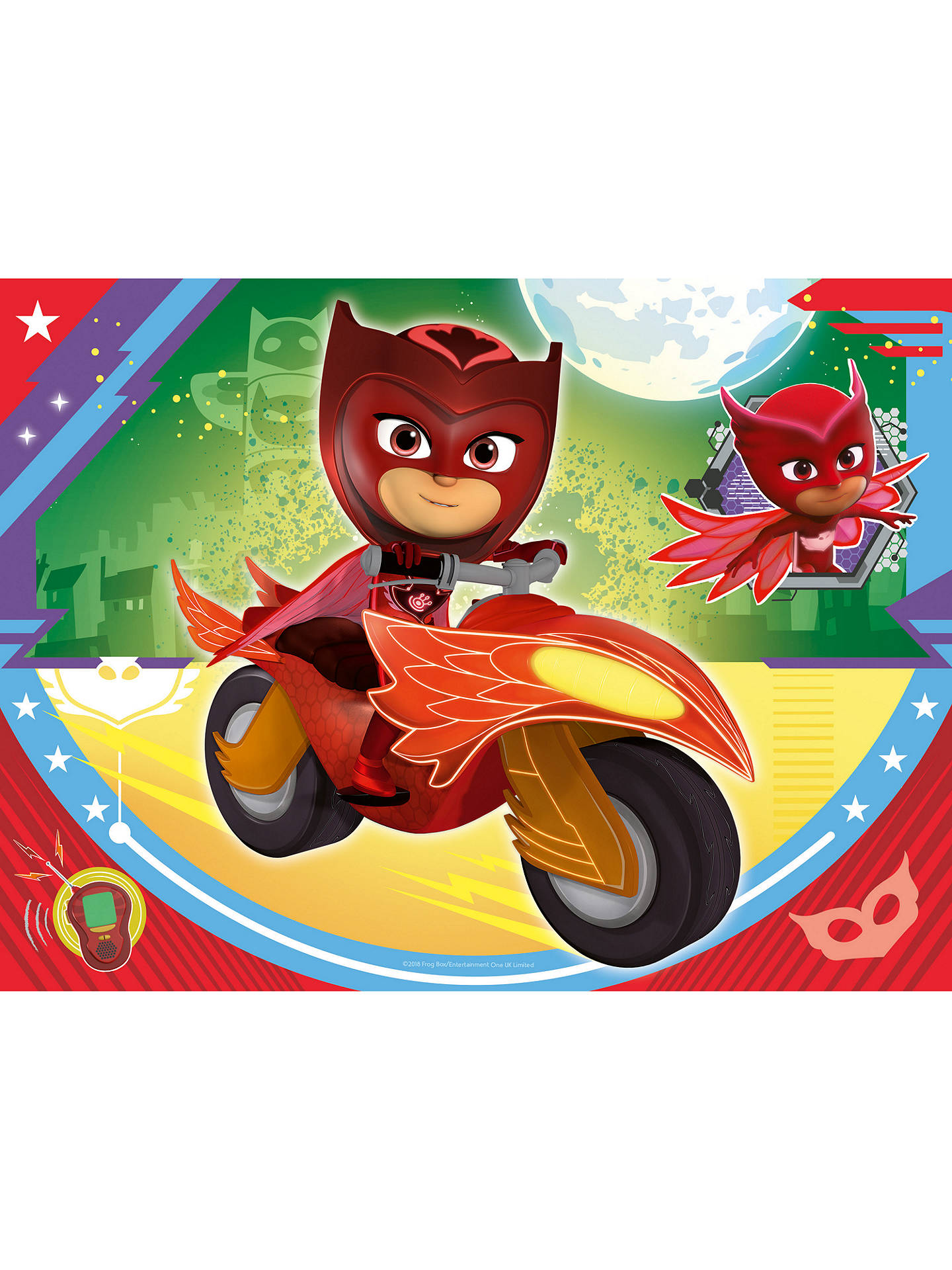 Buy Ravensburger PJ Masks Jigsaw Puzzle, Box of 4 Online at johnlewis.com