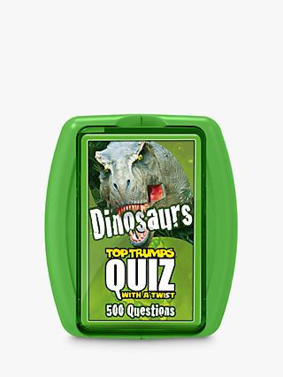 Top Trumps Quiz Dinosaurs Card Game
